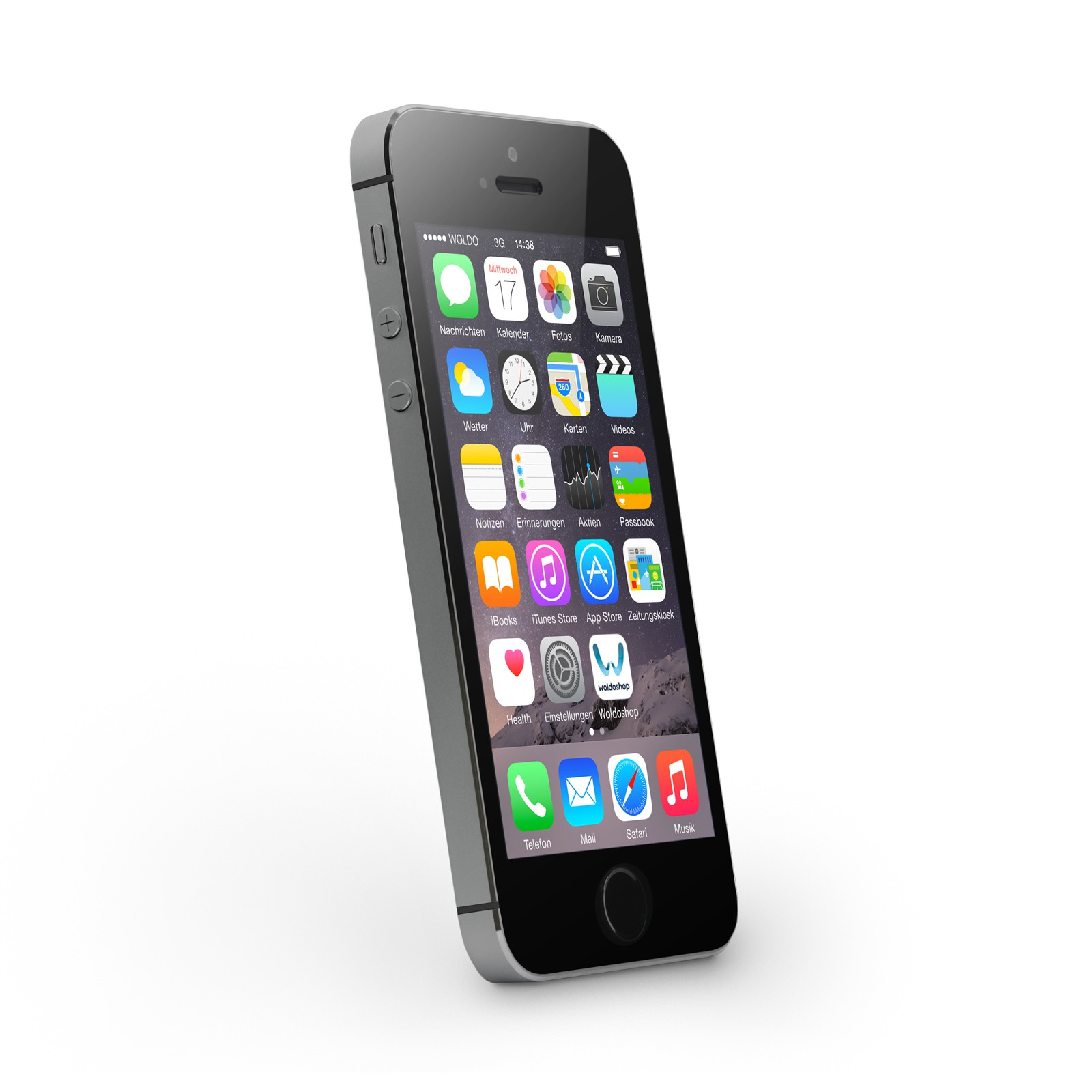 apple iphone 5s 32gb spacegrey ohne simlock wie neu. Black Bedroom Furniture Sets. Home Design Ideas