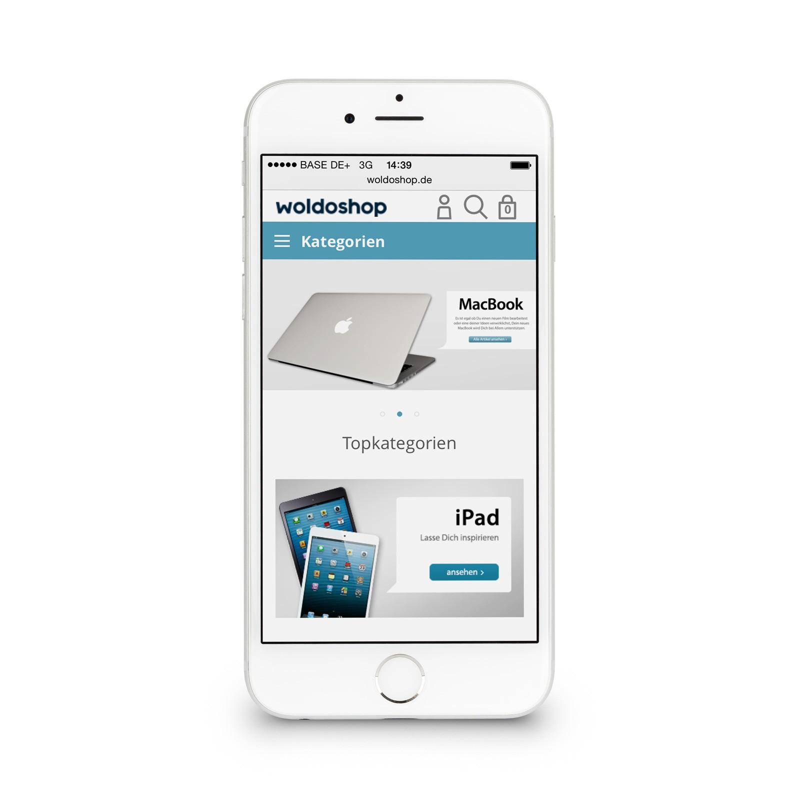 apple iphone 6 16gb silber apple iphone 6. Black Bedroom Furniture Sets. Home Design Ideas
