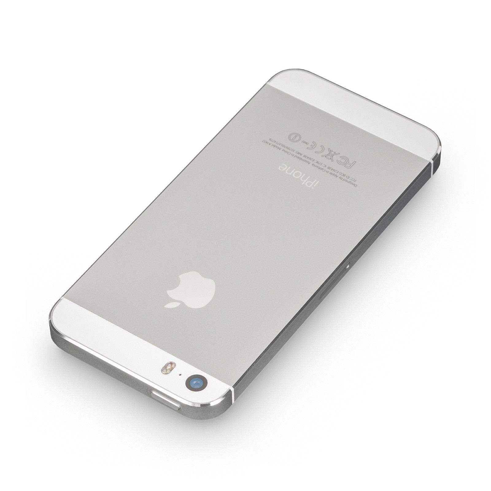apple iphone 5s 16gb silber wie neu ohne simlock. Black Bedroom Furniture Sets. Home Design Ideas