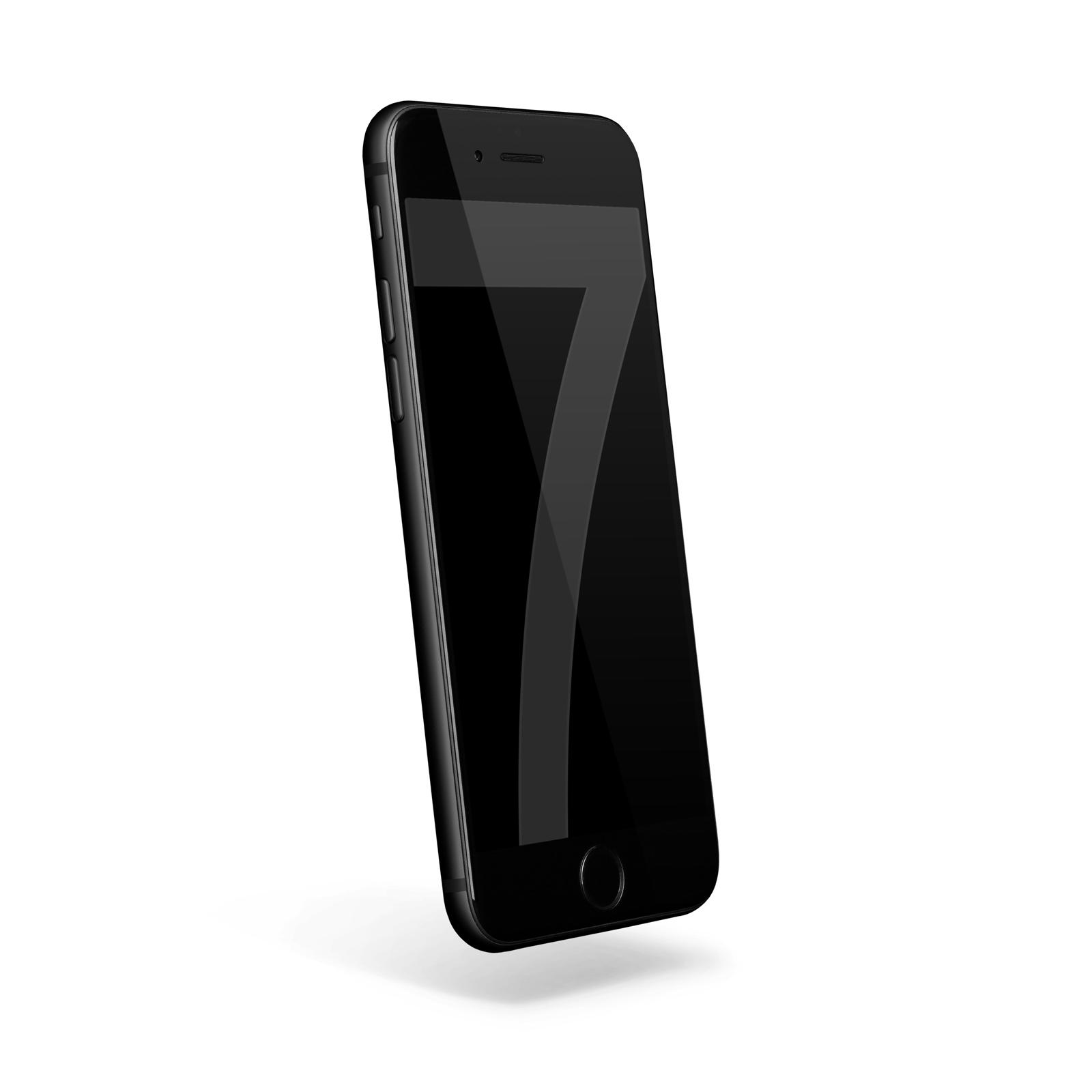 apple iphone 7 128gb mattschwarz wie neu smartphone ohne. Black Bedroom Furniture Sets. Home Design Ideas